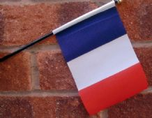 HAND WAVING FLAG (SMALL) - France